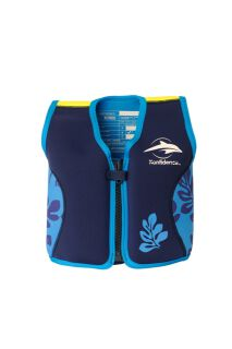 Konfidence Jacket Schwimmweste navy/blue palm