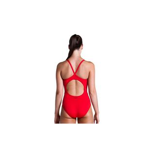 Funkita Still Red one Piece Diamond back Badeanzug in Rot uni