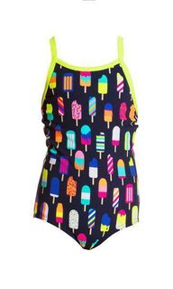 Funkita Frosty Fruits One Piece Mädchen/Kinderbadeanzug