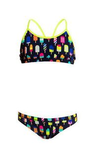 Funkita Girls Racerback Two Piece Frosty Fruits Mädchen/Kinderbikini