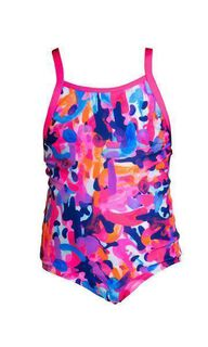 Funkita Party Army One Piece Mädchen/Kinderbadeanzug