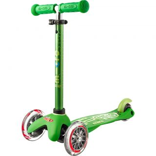 Mini Micro DELUXE green Tretroller Kinder Scooter Grün